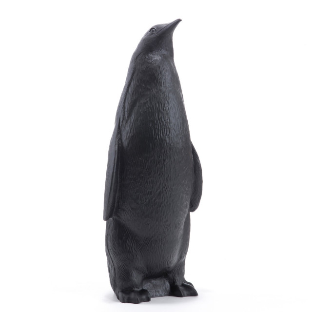 Penguin head up black